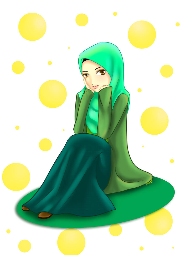 Sitting by adhwa