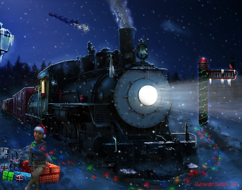 Light Up December! by cluttergirl
