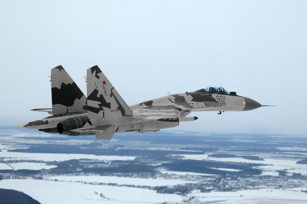 Sukhoi Su-35 abre o céu para nova geração