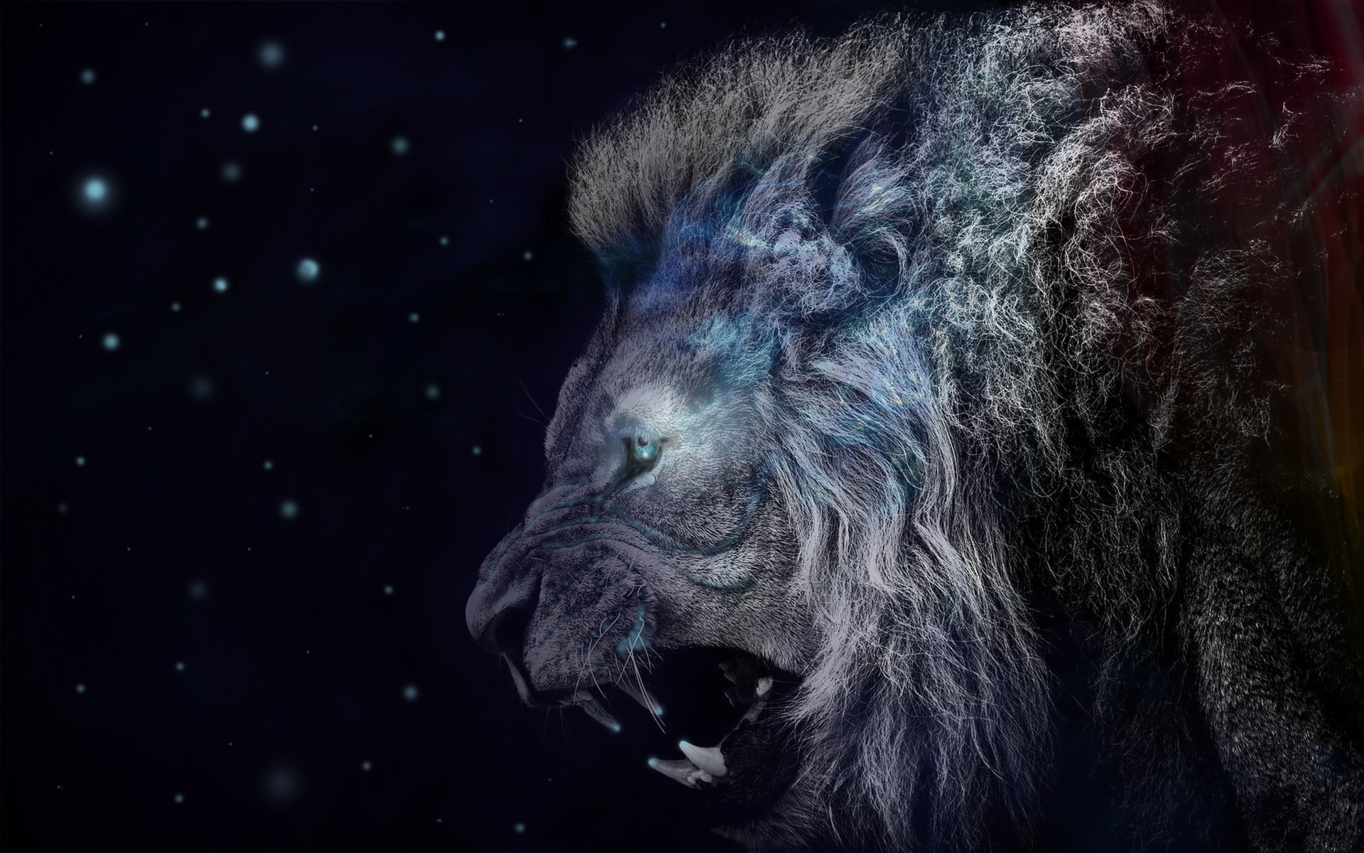 lionfantasywallpaper by j3rryw3st002 on deviantart