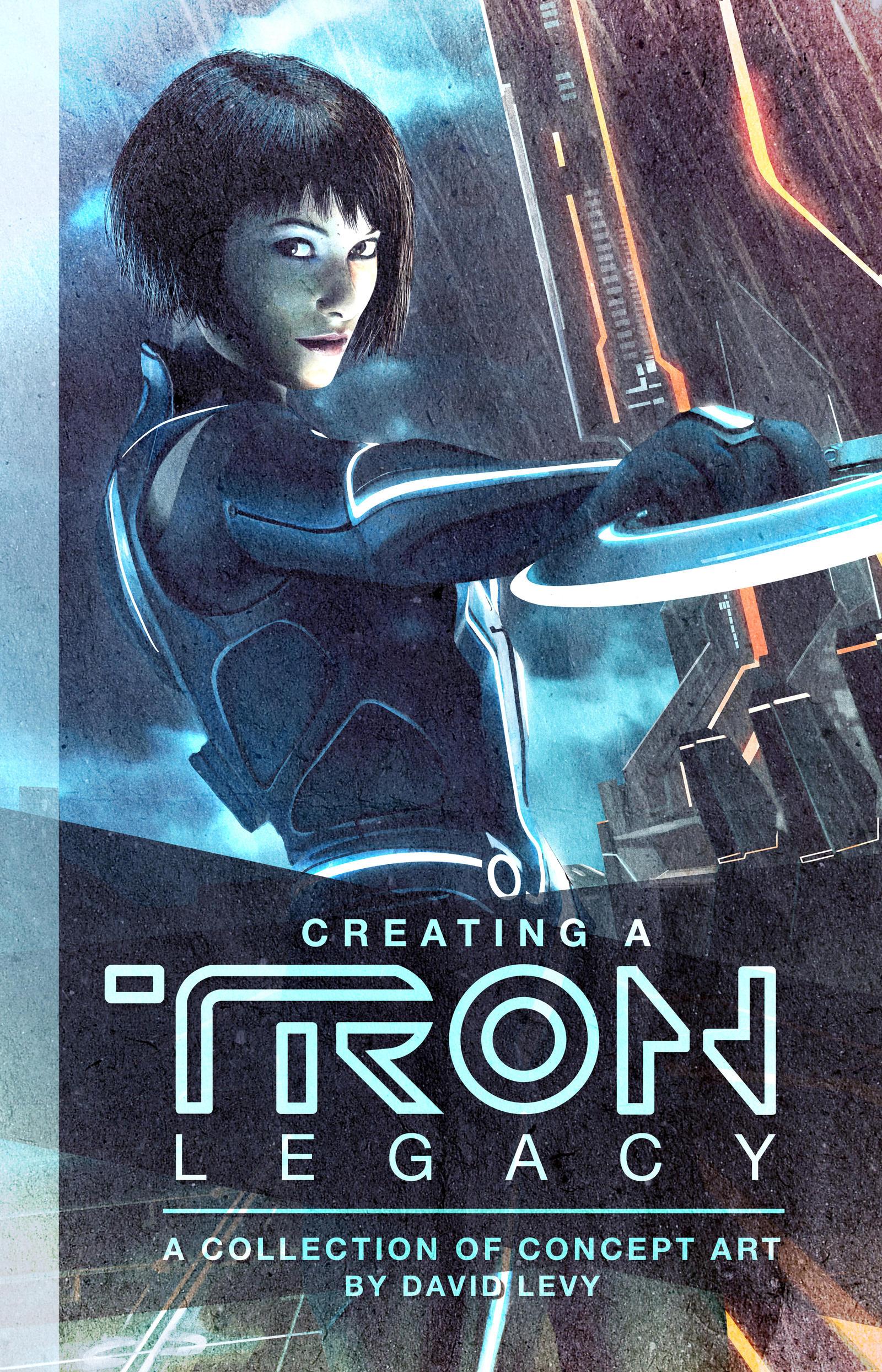 Tron Legacy Book Cover Design
