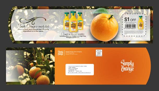 Simply Orange Direct Mailer