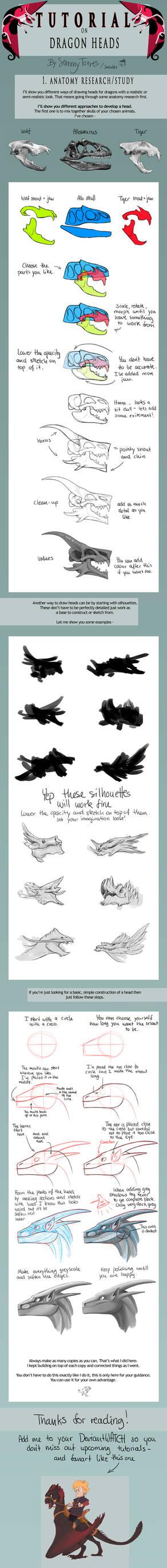 TUTORIAL: Dragon Heads