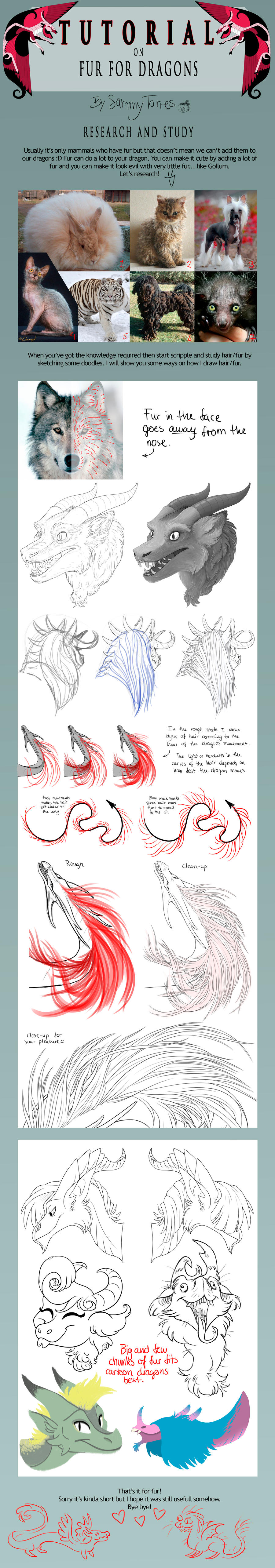TUTORIAL: Fur for Dragons by SammyTorres
