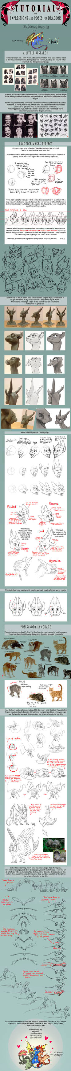 TUTORIAL: Expressions and Poses for Dragons