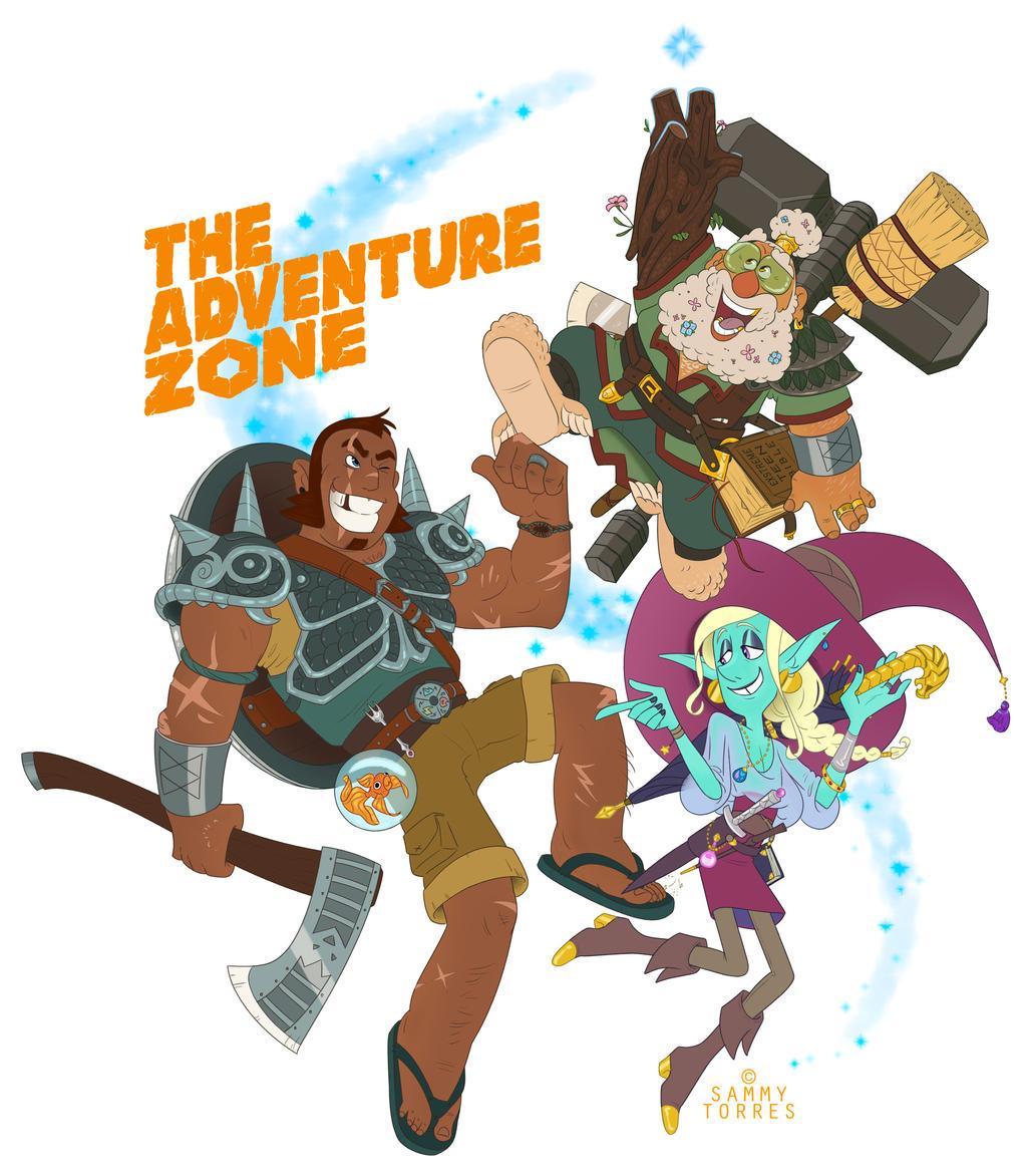 The Adventure Zone By Sammytorres On Deviantart