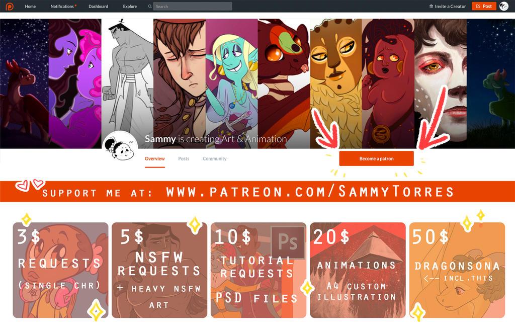 POST PatreonSite presentation 01 by SammyTorres