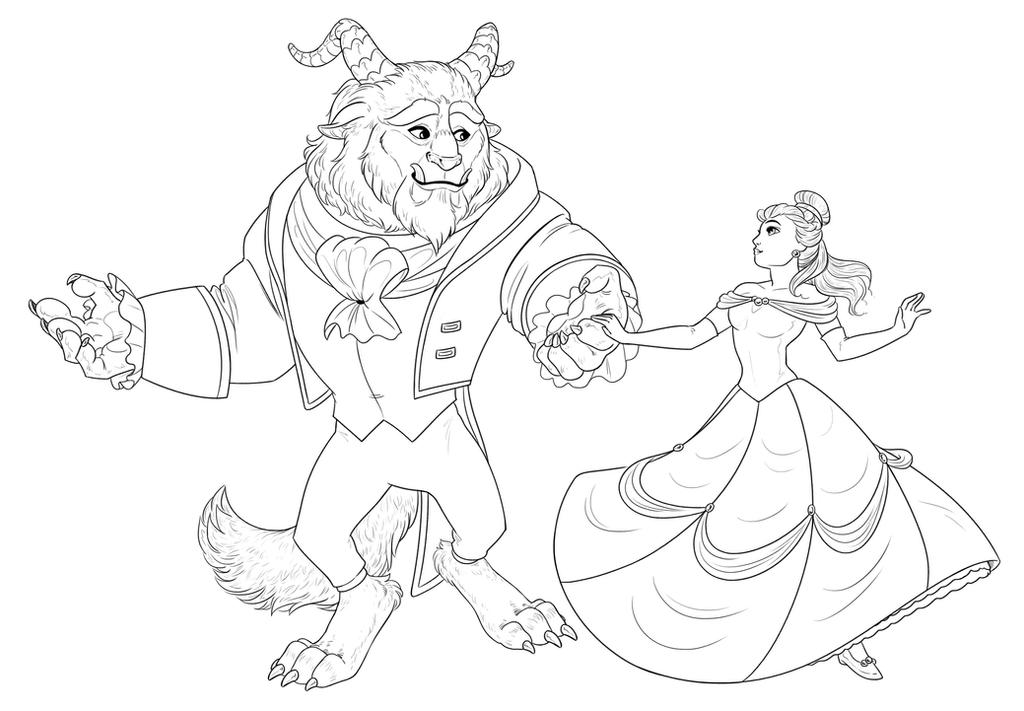 Beauty and the Beast by SammyTorres