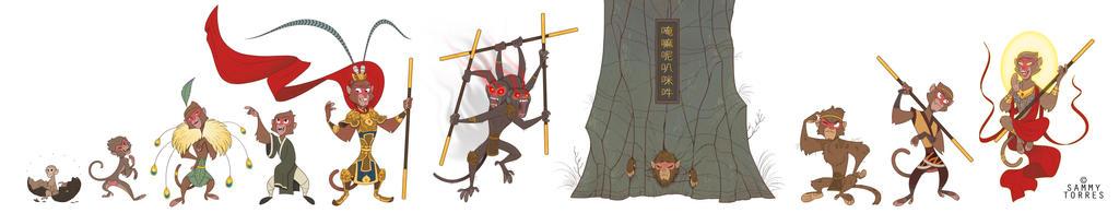 Sun Wukong by SammyTorres