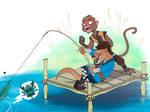 Fishing Dragons