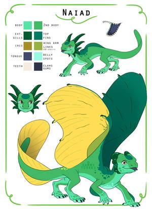 Dragonsona - Naiad by SammyTorres