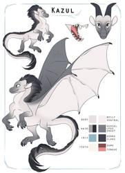 Dragonsona - Kazul by SammyTorres