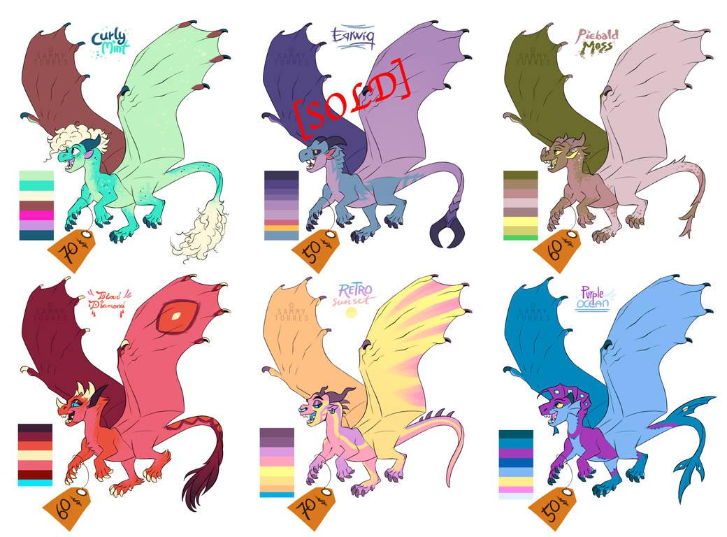 Dragon Adopts - Batch 2