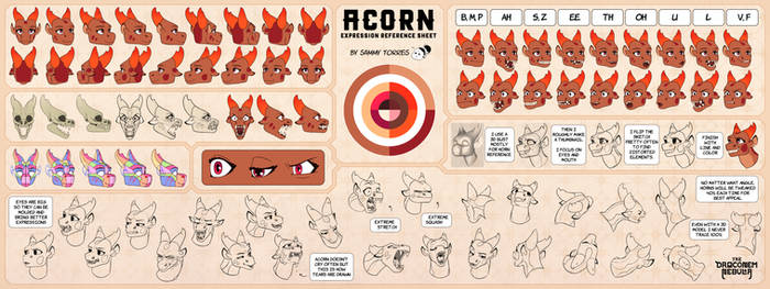 Acorn - Expression Reference Sheet - Chapter 2