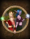 Blood Elf Night Elf: Warcraft