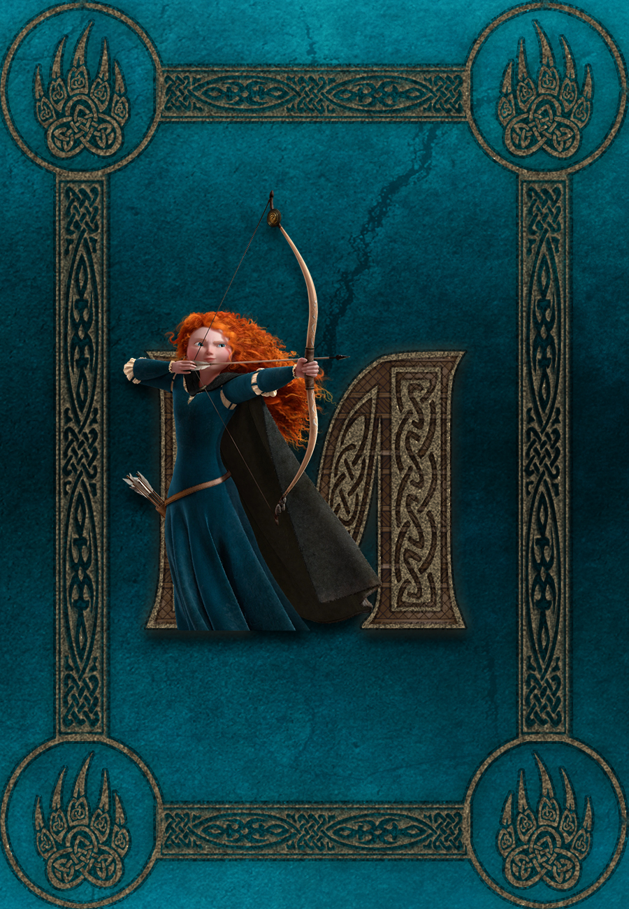 M is for Merida