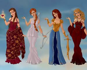 Olympian Goddesses Part 1