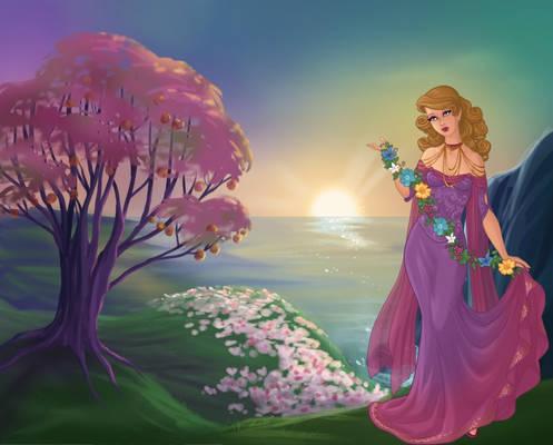 Persephone - Goddess of Springtime
