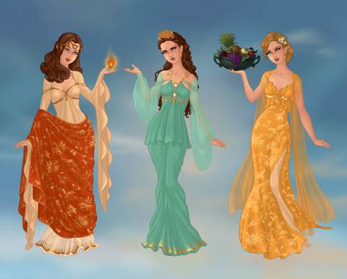Olympian Goddesses Part 2