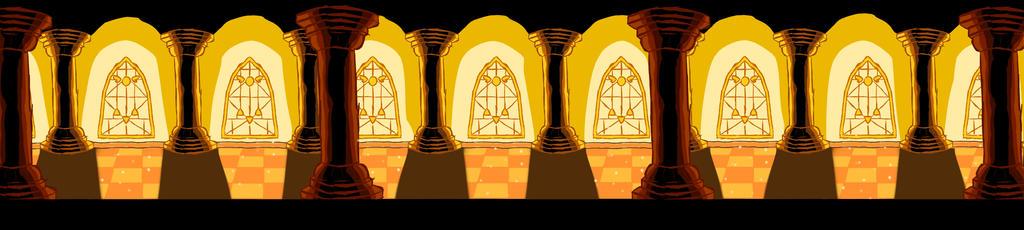 Judgement Hall Background Undertale by WickedHex