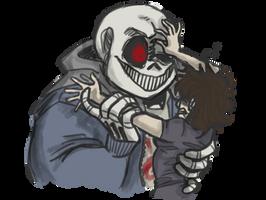 Inktober Day 1 - Horrortale Sans