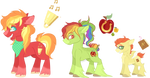 AppleDash adopts - [2/3 OPEN] by Draw-With-Nightshade