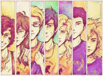 Seven Half Bloods Shall Answer the Call