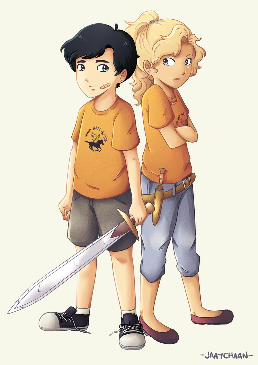 Young Percabeth By Jaaychaan On Deviantart