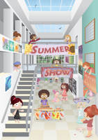 summer show poster
