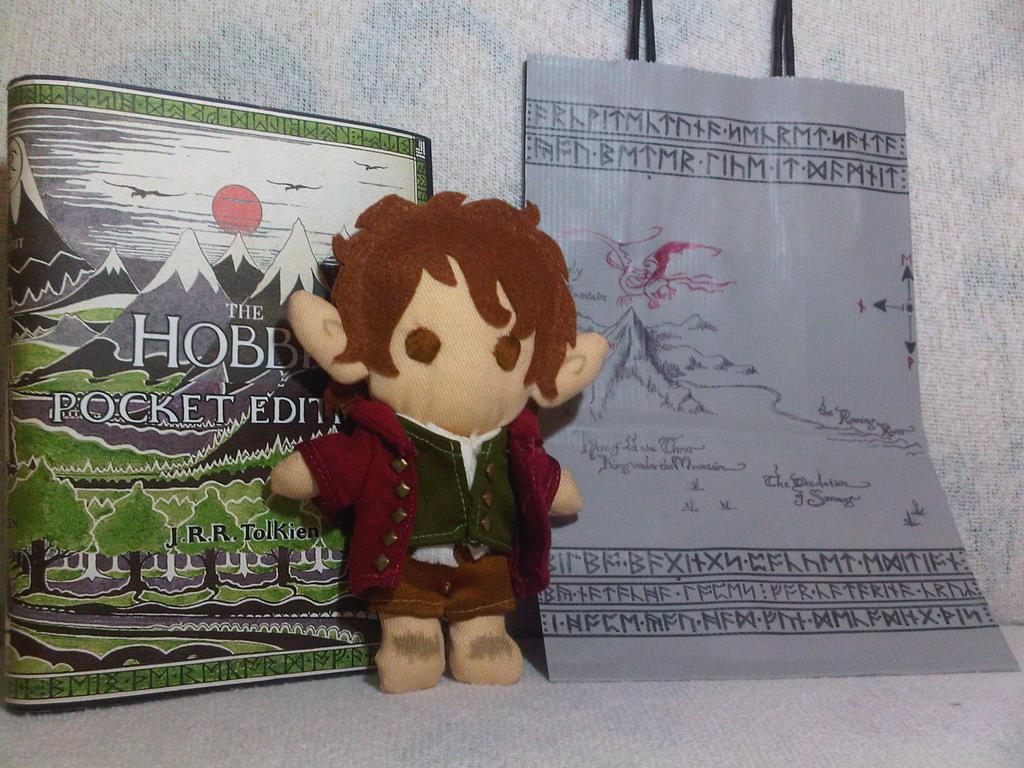 Bilbo Baggins Plushie by FashionAtelier