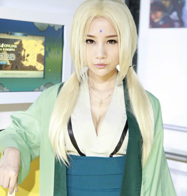 Naruto Tsunade cosplay by boomjoy on DeviantArt