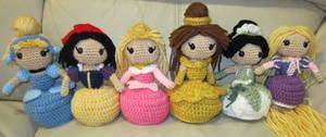 Disney Princess Handmade Amigurumi Set 2