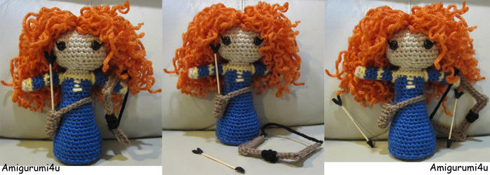 Merida from Brave (Updated)