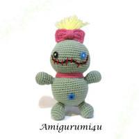 Disney Lilo and Stitch Scrump Doll Amigurumi by amigurumi4u