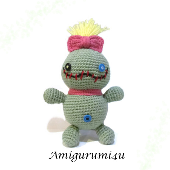 Disney Lilo and Stitch Scrump Doll Amigurumi by ...