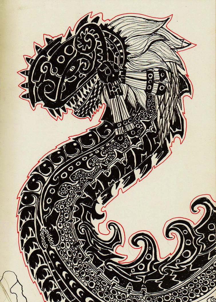 dragon viking tattoo