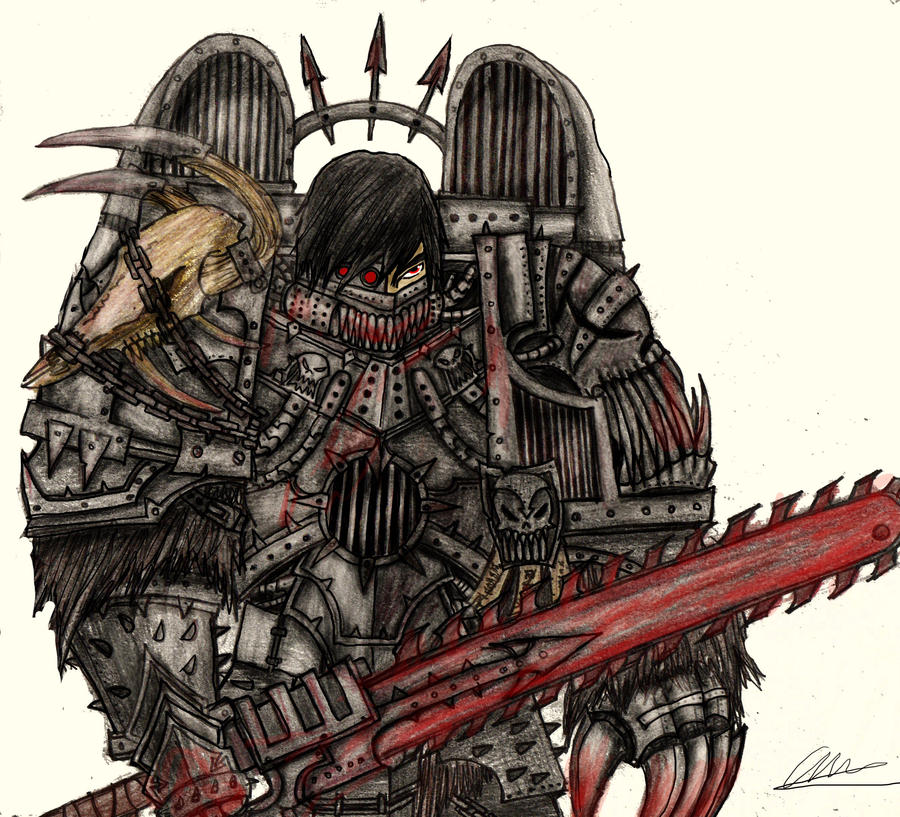 [W40K] Collection d'images : Space Marines du Chaos Chaos_space_marine_raptor_by_taurus_chaoslord-d2xzojn