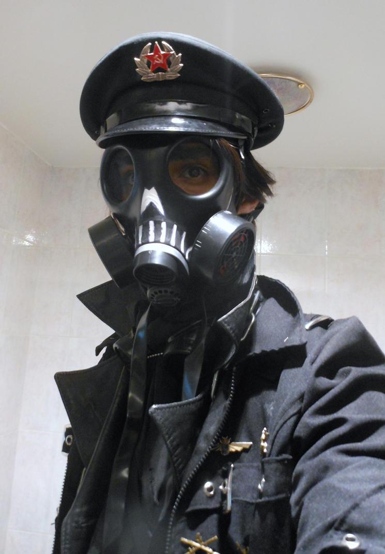 Soviet Goth Uniform Gasmask By Taurus Chaoslord On Deviantart