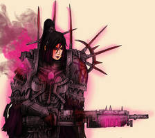 Slaanesh Battle Maiden by Taurus-ChaosLord