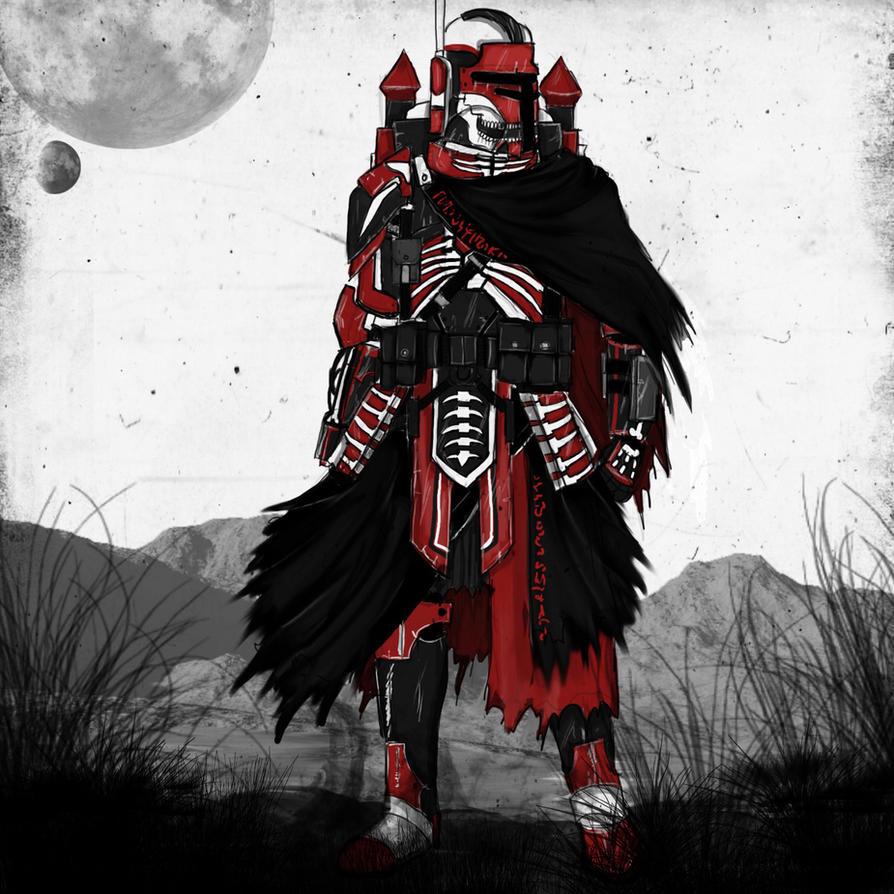Veteran Mandalorian by Taurus-ChaosLord