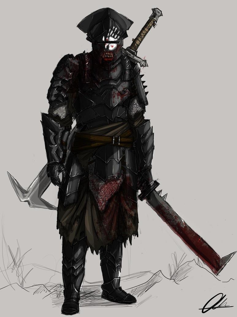 Uruk-Hai Champion by Taurus-ChaosLord