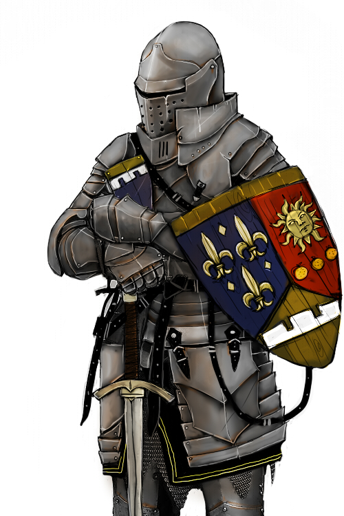 how to become a french knight