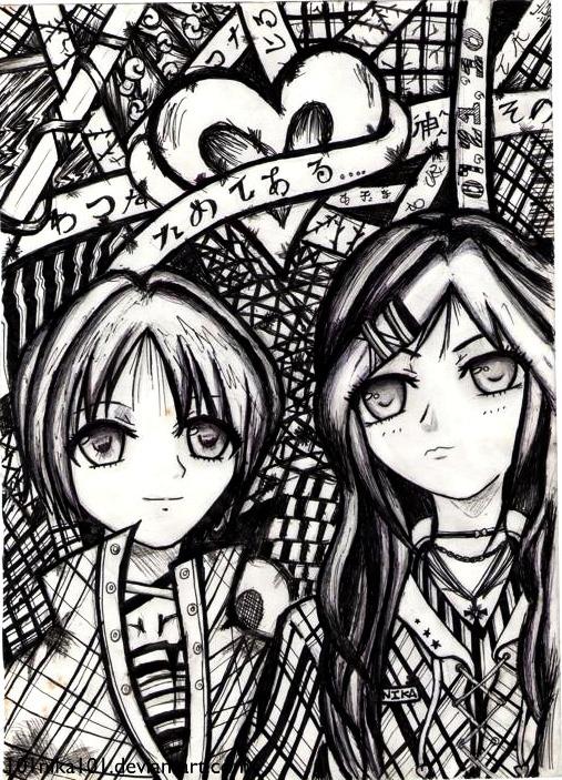 Gothic Love by 101nika101