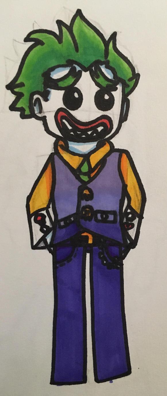 Joker  by HelenM16