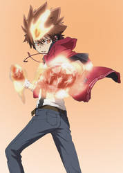 Tsuna The Judaime Vongola by Tsuna-27