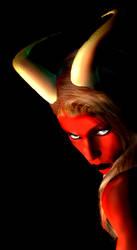 Demon Queen by robot-god