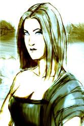 Mona by robot-god
