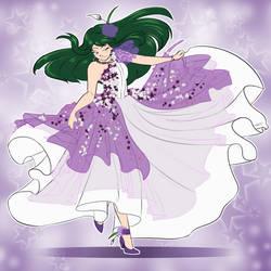 COM: Aster Flower Dress by Shinavar