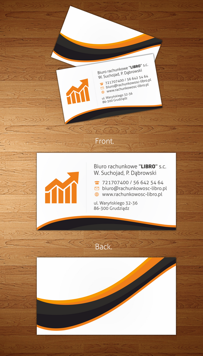 accounting office business cards by vouxe on DeviantArt
