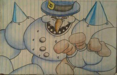 Clayfighter portrait Bad Mr Frosty by Dorkyguy